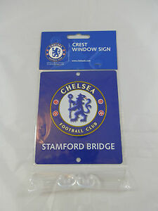 Chelsea FC Car Window Sign / Wall Sign - Official Merchandise