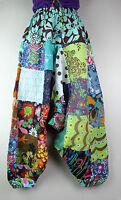 Cotton UNISEX Trousers Hippie Gypsy Alibaba Boho Harem Baggy Yoga Pant Nepal AB3