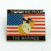 USMC EGA The Few The Proud The Marines Lapel Hat Pin Military