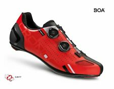 CRONO CR-2 road bicycle carbon composite sole FERRARI RED shoes US 10 EU 43.5