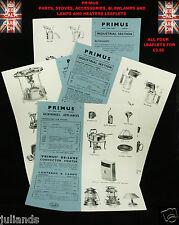 Primus Fornello volantini Lampada a Petrolio volantini Primus LAMPADE illustrativo