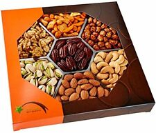 Five Star Fruit & Nut Gifts Gift Baskets Gourmet Food Nuts Gift Basket, Nuts