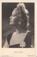 Marte Harell Film-Foto-Verlag Postkarte 30er Jahre A 3765/1 + P 2322