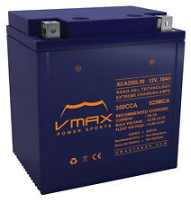 VMAX XCA350L30 ATV BATTERY UPGRADE for Polaris 850cc Sportsman 2009-17 12V 30aH