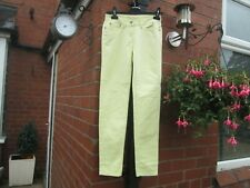 Boden Yellow Skinny Jeans Size 6 Petite-WC114