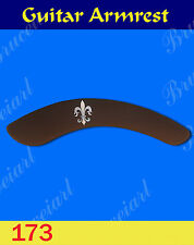 Free Shipping, Guitar Part - Armrest  W/Mop Art Inlay (G-173-1)