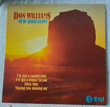 "Don Williams LP ""New Horizons"" 1979 UK Press Album In Excellent Condition"