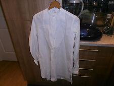 "1920s Ranken & Co  Collarless Faille Fronted Dress Shirt size 14.5"""