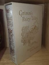 Arthur Rackham's GRIMM'S FAIRY TALES Deluxe Limited Edition EASTON PRESS New