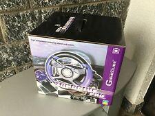 Gamecube  Nintendo#Logi3 Force Feedback Wheel rare Vintage TOP DRIVE PRO
