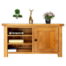 Original Solid OAK TV Unit 1 or 2 Door OAK Cabinet TV Stand DVD Storage Cupboard