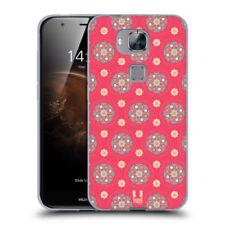 Fundas y carcasas mate de color principal rosa para teléfonos móviles y PDAs Huawei