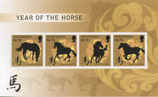 Montserrat - 2014 LUNAR NEW YEAR OF THE HORSE - SHEET OF 4 STAMPS - MNH