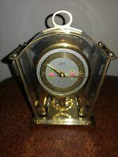 Vintage, Carro Reloj Schatz manto/, rueda de equilibrio 59 Movimiento. Funcionando.