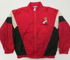 Starter Windbreaker Maryland Terrapins Jacket XL Red Full Zip