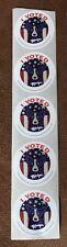 BLUE DOG I VOTED VOTE 2016 STICKER GEORGE RODRIGUE ART TRUMP CLINTON LOT OF 5 !!