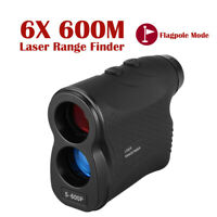 6X Magnification Laser Range Finder 600M Distance Meter Flaglocking Rangefinder