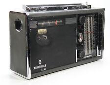 GRUNDIG Satellit 5000 Transistor Radio Weltempfänger - schwarzer Lautsprecher
