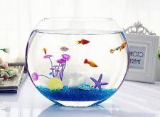 Artificial Fish Tank Decoration 100g/lot 2017 New Hot Glass Pebbles blue A093