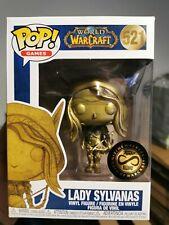 World Of Warcraft - Sylvanas Gold Blizzcon Exclusive Funko Pop! Vinyl Figure