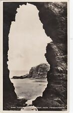 View Through The Natural Arch, PERRANPORTH, Cornwall RP