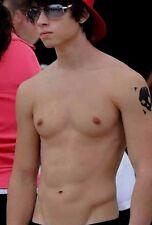 Shirtless Male Muscular Frat Boy Jock Hunk Arm Tattoo Sunglasses PHOTO 4X6 D235