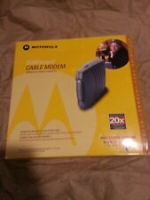 Motorola Surfboard SB5120 Cable Modem In Box preowned