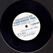 VINYL...COMPANION TRIO -CLUJ/ NONA LIM  MASS PARTICLES 1997 -RECORDED LIVE AT KN