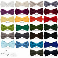 Bow Tie for Men Ties – Men's Pre Tied Formal Tuxedo Bowtie for Adults & Children