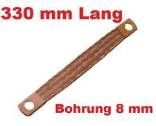 Motor Masseband 330 mm 21 qmm 80 A Motormasseband Massekabel Kupferband