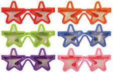 6 Child Star Glasses - Loot/Party Bag Fillers Wedding Kids Joke