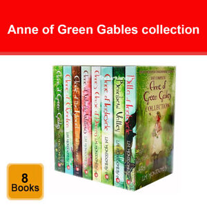 The Complete Anne of Green Gables Collection 8 Books Set by L M Montgomery NEW