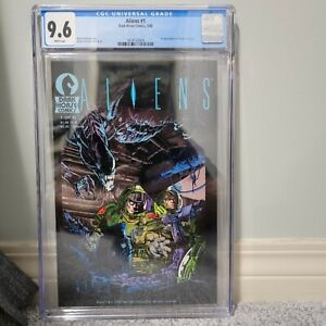 Aliens #1 Alien First Print Rare CGC 9.6 WP First Appearance Aliens 1st