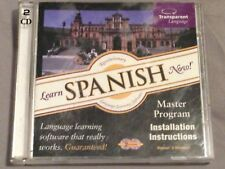 Learn Spanish Now! Master Program Cd-Rom Windows/Mac Rare