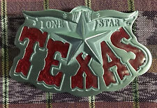 LONE STAR TEXAS BELT BUCKLE  ALAMO WESTERN NEW