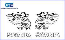 1 Paar SCANIA  Greif Aufkleber - Sticker - Decal !!!