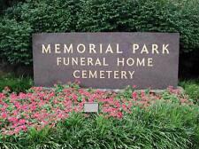 2 Burial Plots At Memphis Memorial Park Cemetery