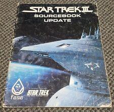 Star Trek III - Sourcebook Update - Star Trek RPG FASA 2214