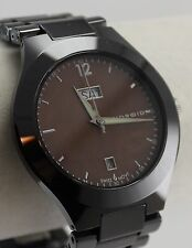 Android Men's Fantasy 42 Watch AD374 Swiss Movement Ceramic Case Brown MOP Dial