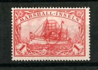 1914 German Marshall Islands (Nauru) Japanese Occupation Issues on 1 M Jaluit