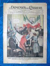 La Domenica del Corriere 5 gennaio 1919 Italia libera-Roma-Vittorio Emanuele III