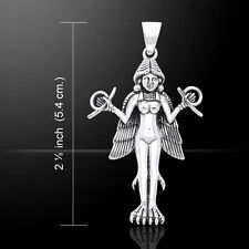 Oberon Zell Goddess Lilith .925 Sterling Silver Pendant by Peter Stone