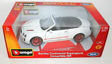 Bentley Continental Supersport Convertible ISR 1/18 Burago