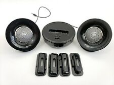 Philips Speaker Dock Docking Station for iPod Black Battery AC Power W Case