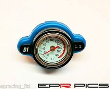 D1 Spec Thermostatic Gauge Radiator Cap Small Head *1.1 Bar* *Genuine Item*