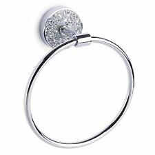 Towel Ring Mosaic Silver Decoration Bathroom Accessories Towell Hanger Holder