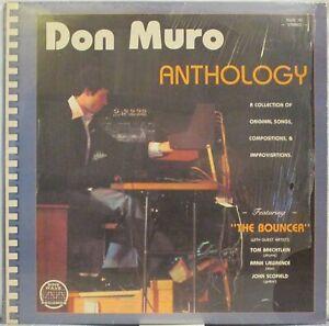 DON MURO Anthology LP Electronic/Synth Rock – Private Press w/ John Scofield