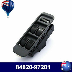 RHD Master Window Switch Fits For Daihatsu Sirion M100 YRV Mira L500 84820-97201
