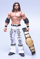 2011 Mattel WWE Basic Series 12 JOHN MORRISON Wrestling Figure + IC Title Belt