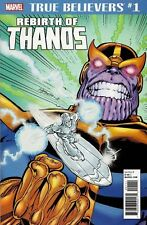 THANOS #1 TRUE BELIEVERS REBIRTH (2018) MARVEL COMICS AVENGERS